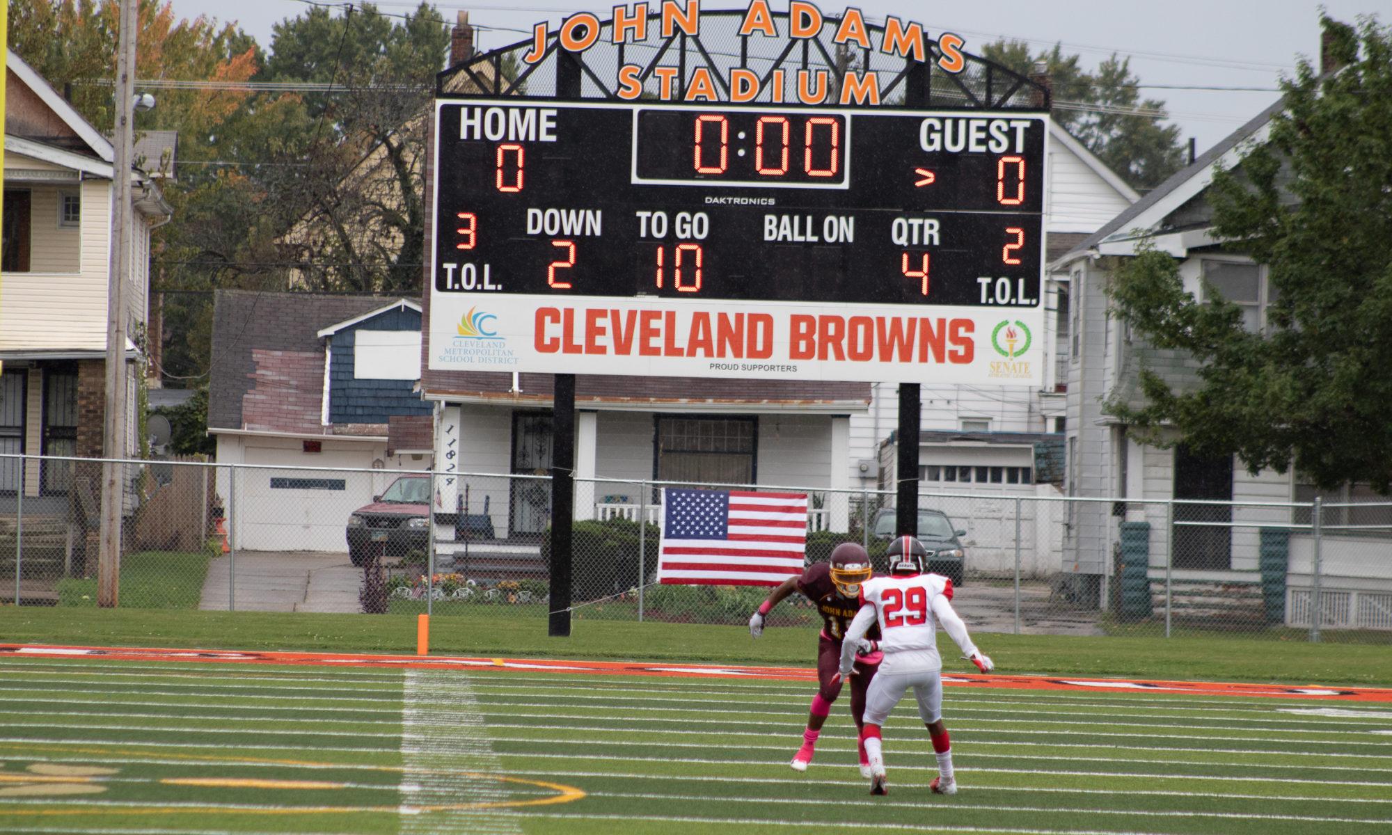 Glenville v. John Adams, John Adams Stadium, Cleveland, Ohio